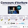Concours « faites voyager vos histoires dans l'espace »
