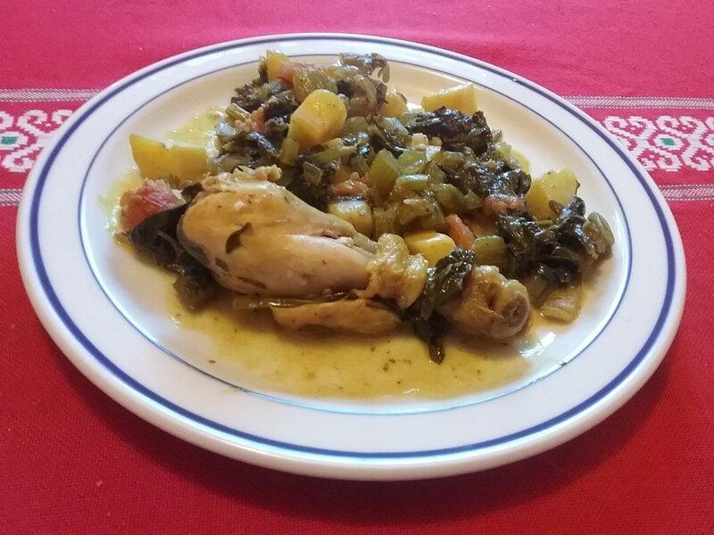 Mijoté de poulet au céleri et aux pommes de terre 1