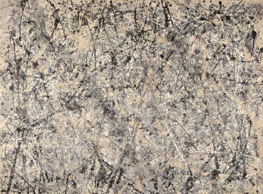 Jackson Pollock, Brune lavande, 1950