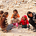 Comme les jeunes filles, les petites filles, étaient exploitées pour ce djihad sacré, et victimes d'abus sexuels.