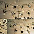 Guirlandes de fanions en papier