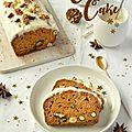 Carrot cake #noël vegan