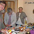 27 juin 2013 chez Mireille