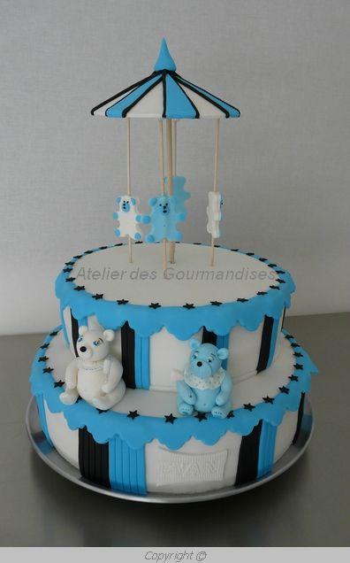 Gâteau manege