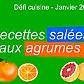 <b>Défi</b> <b>cuisine</b> du mois de janvier 2018...