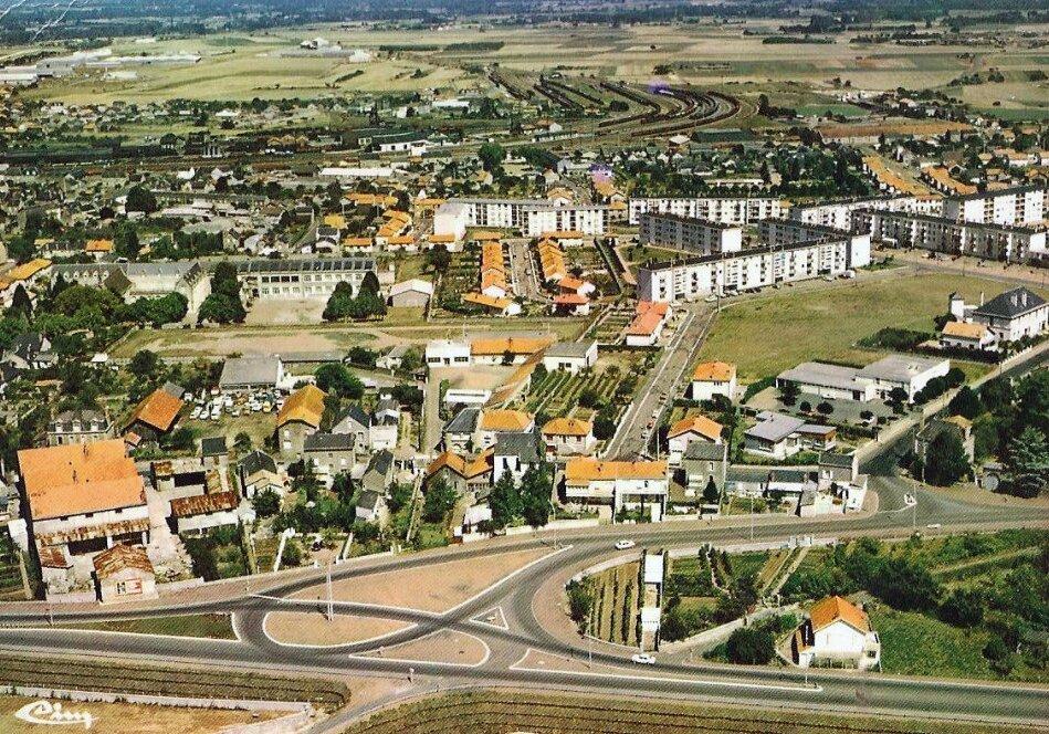 Thouars, les quartiers Est