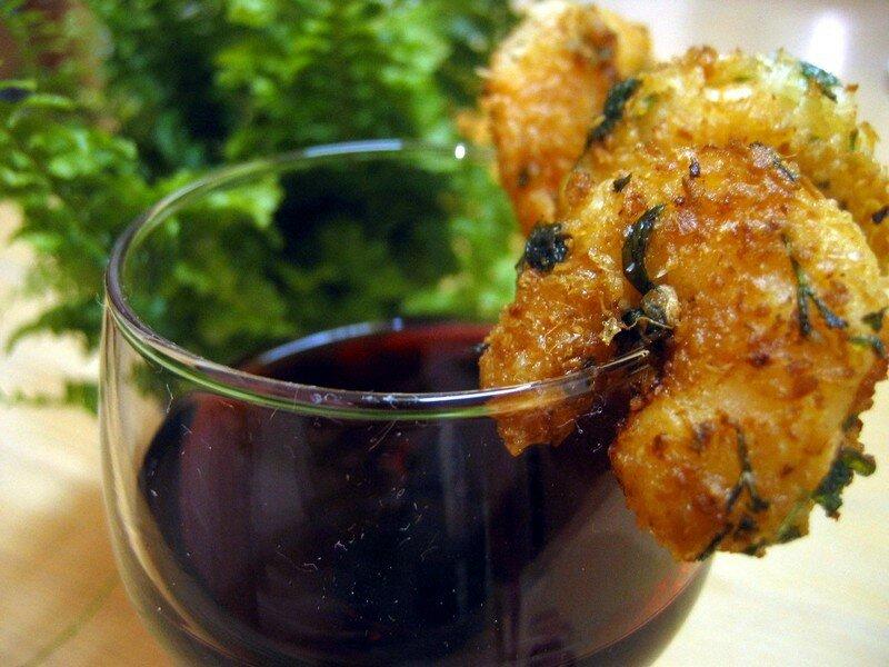 Café Créole - Crevettes en habit de coco - Version Mimosa