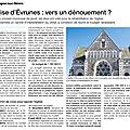 Eglise saint-hilaire de mortagne : un projet encore incertain
