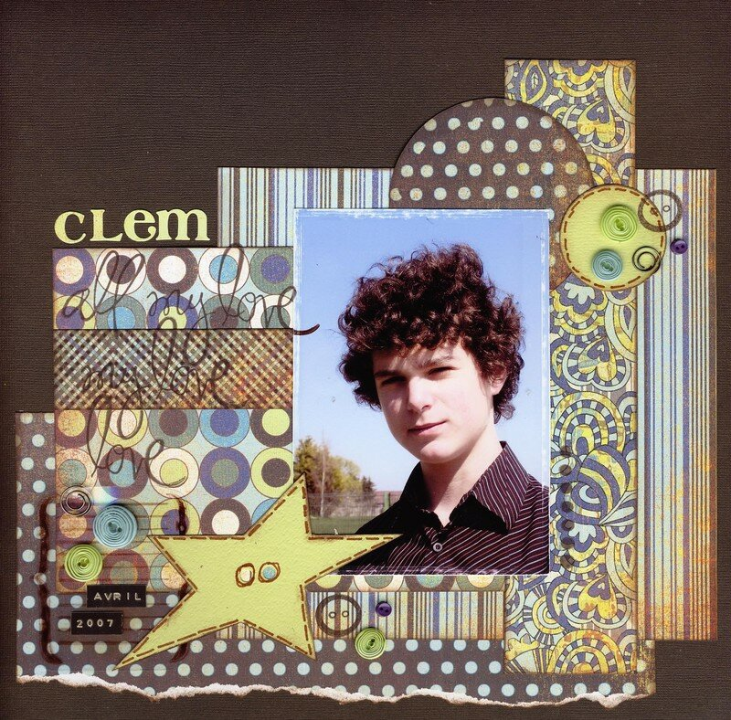Clem, all my love