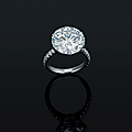 An important 10.01 carats type iia diamond ring