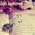 Bilan lecture juin 2012