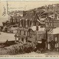 76 - VEULES LES ROSES - Vue sur la place Melingue