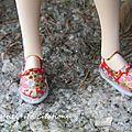 Tuto petites chaussures pour Ruruko ou <b>Momoko</b>