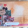 <b>Créablablablog</b> - marathon de l'hiver : 1er essai de Mail Art
