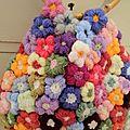 Enfin fini mon sac fleur...post de nouvelles photos