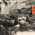 Paris, le Carreau des Fleurs (Halles)