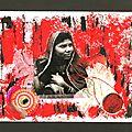 Carnet indien 18x24