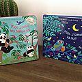 Mon <b>livre</b> <b>à</b> <b>toucher</b> : Moi j'aime la nuit / Moi, j'aime les histoires - Mathilde Bréchet & Camille Chincholle (Gallimard)