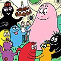Sweet table-decorations a imprimer pour table gourmande barbapapa