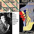 Condoléances de Line Vautrin à Denise, Paris, 1-12-37