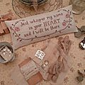 Shabby chic roses for a romantic set # 2
