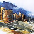 GRANDE-BRETAGNE / GREAT BRITAIN, Northumberland - Alnwick Castle