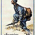 Le soldat français de 1918, dessins de Jean Droit