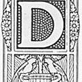 Suite du décryptage des consonnes : D, P, R, B