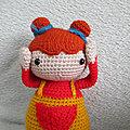 poupée au crochet, amigurumi, fait main
