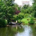Amiens, les hortillonnages, jardins sur l'eau