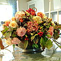 Les dernières roses d'automne