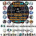 Exposition septembre 2019 : la <b>Galerie</b> EVOL'<b>ART</b> soutient les SEINS SOLIDAIRES et les engagements de FABENT et <b>d</b>'EuRAKa