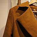 [défi des basiques] ... une veste caramel... et [défi du copain du basique] ... la marinière patch... + défi déstockage inside !