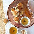 Moelleux citron et raisins