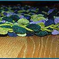 Un peu addict du tapis au crochet!