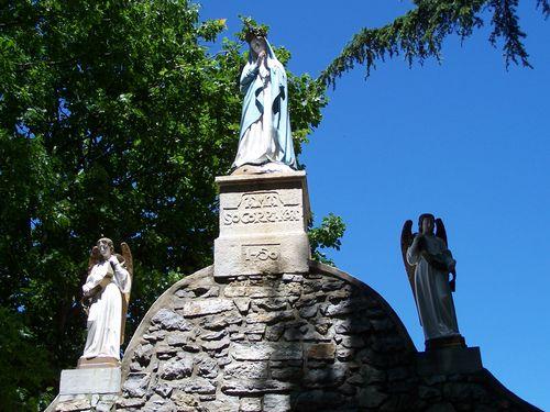 Chapelle de Socorri-statue de la Vierge