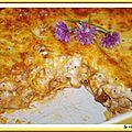 Lasagnes de veau et cepes a la parmesane