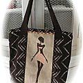 sac motif africaine Isa V