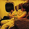 Sleeping Girls in a Kyûshû Shinkansen (N700)