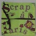 14 - Scrap à Paris : flag book