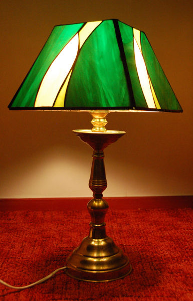 lampe verte - 13O euros