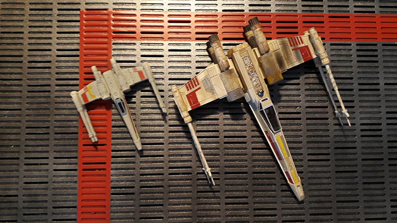 x-wing hotwheels elite compare 2