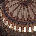 Mosquée bleue (intérieur)