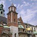 Pologne, Cracovie, sur la colline Wawel
