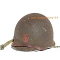 Helmet of the month : Le casque du mois : 90th engaged in <b>Normandy</b>