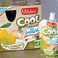 cool fruits au yaourt poire williams pomme de vitabio