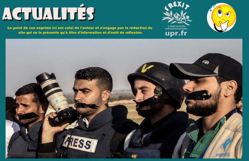 ACT JOURNALISTES PALESTINE