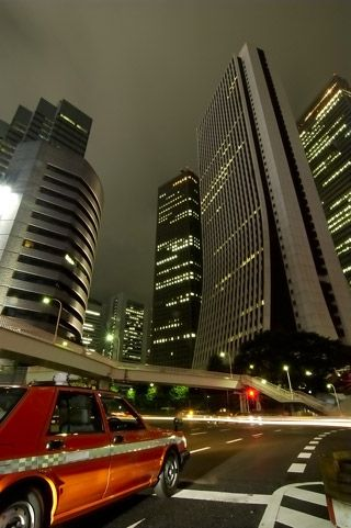le quartier des affaires de Tokyo