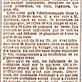 Dimanche 29 Novembre 1885 Ils ont volé les lapins de mon grand-père !