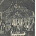 L'église de Fougueyrolles, pour les fêtes de Jeanne d'Arc en 190